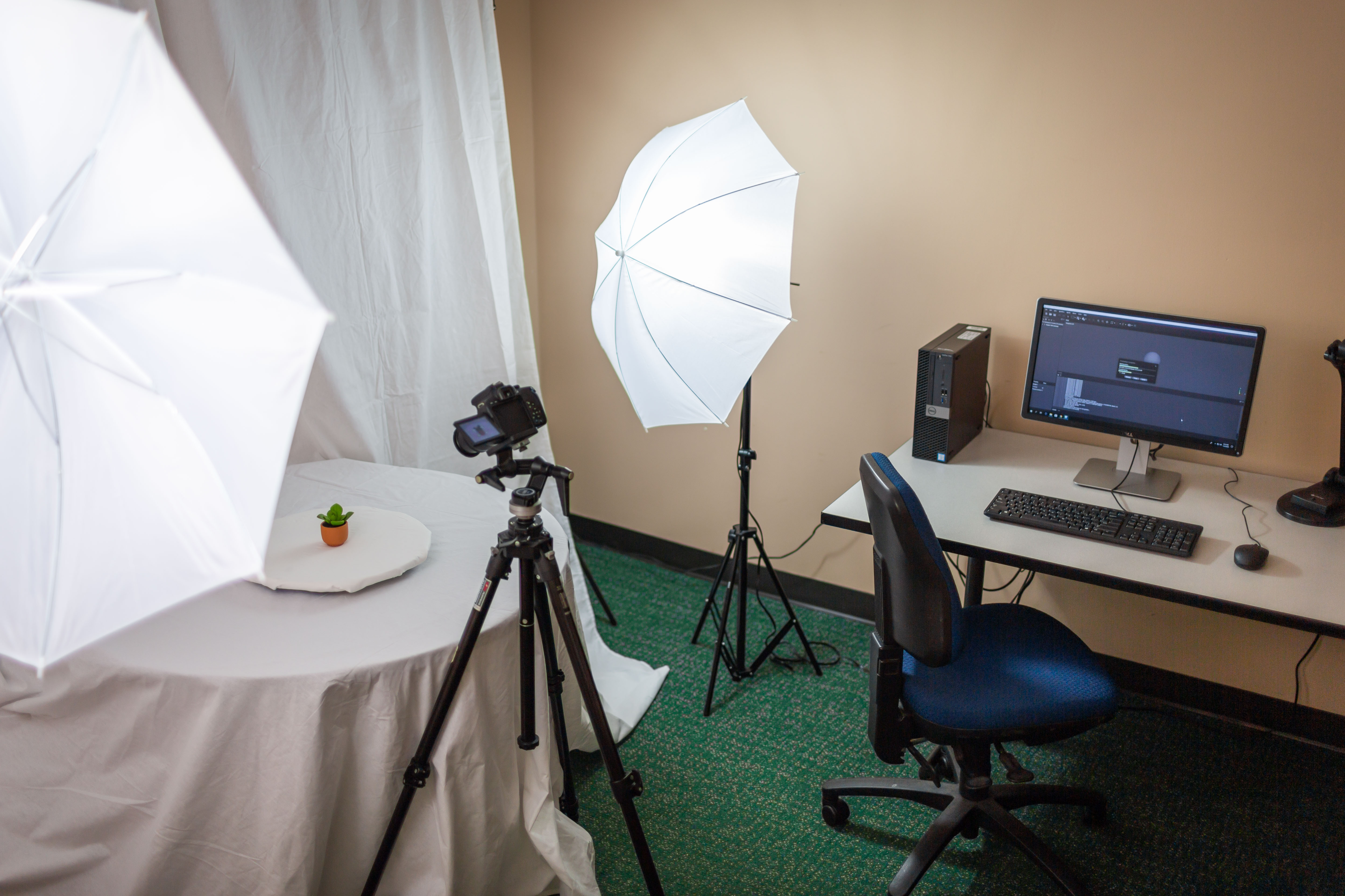 Photogrammetry Studio setup